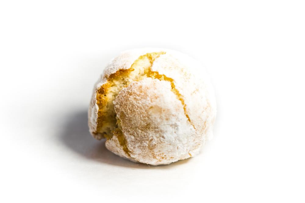 Mandelgebäck / Pasta di mandorla al limone Zitrone